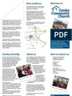 Canley Community Church Welcome Leaflet
