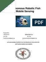 An Autonomous Robotic Fish for Mobile Sensing (1)