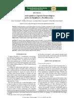 Composição química e aspectos farmacológicos de espécies de Passiflora