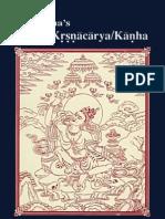 Taranatha s Life of Krsnacarya Kanha
