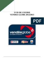 réglement officiel du Vendée Globe - Voir Article 13