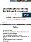 Channeling Pension Funds for National Development - Pencom