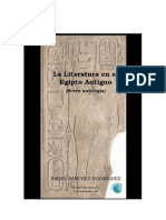LITERATURA EGIPCIA