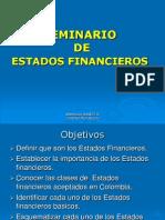 Estados Financieros Seminario
