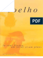 La Raul Piedra Am Sezut Jos Si Am Plans - Coelho, Paulo