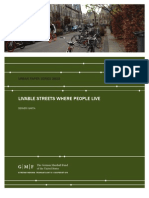 Livable Streets Where People Live