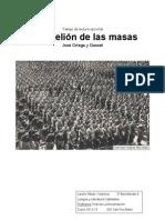 La Rebelión de las masas, José Ortega y Gasset