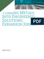 MACOGA Brochure Metallic Expansion Joints