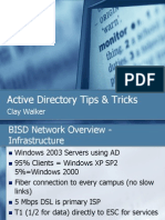 Active Directory Tips & Tricks