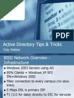 Active Directory Tips & Tricks