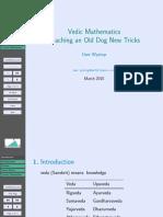 Pdf vedic maths