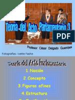 CDG - Teoría del Acto Parlamentario (Vicios Objetivos y Subjetivos)