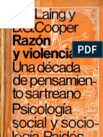 Laing R D & Cooper -D G - Razón y violencia