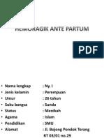 Hemoragik Ante Partum ( Ppt)