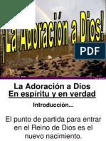 La Adoracion a Dios