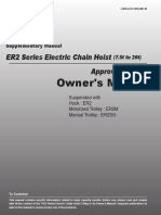 ER2 Large Capacity Operator's Manual