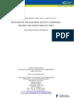 Theory Pluralistic CSR2