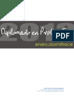DIPLOMADO PRÓTESIS 2013