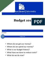 Budget 101