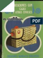 Creaciones Con Cajas y Otros Envases_By_Dijeja