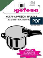 Manual Olla Presion Magefesa