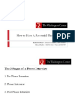 Phone Interview Tips Strategies