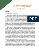 1 Carta a Los Corintios Eugen Walter