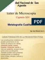 Presentación  Metalografia Cualitativa