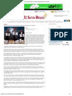 09-12-12 El Sol de México - Moreno Valle suma a grupo Maseca al programa Agricultura por contrato