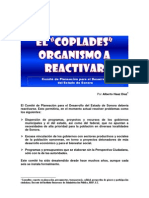 El COPLADES Organismo a Reactivar en Sonora