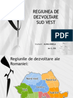 Regiunea de Dezvoltare Sud Vest