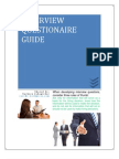 Interview Questionnaire Guide
