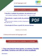 Desenvolvimento Da Linguagem Oral Atividades Para Trabalhar a Oralidade