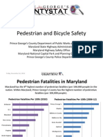PG CountyPedestrian and Bicycle Safety