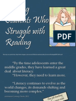 Helping Students Who Struggle With Reading