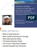 Rise of Data Science in Age of Big Data