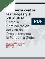 La Guerra contra las Drogas y el VIH/SIDA