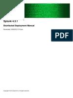 Splunk 4.3.1 Deploy