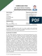 CV_Dr. Md. Sajedur Rahman Chaudhury