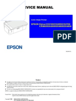 Epson CX4100 Service Manual. Stylus CX4100