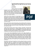 Reading Comprehension (RC) - Leseverstehen (LV) - Why Ebola is Killing Gorillas