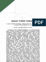 Spomenici Tržačkih Frankopana