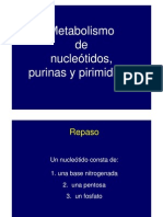 Metabolismo de Purinas y Pirimidinas (14!09!11)