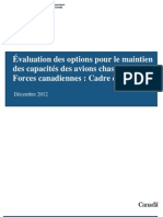 Evaluation Options Cadre de Reference