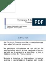 Conciencia & Psicología Transpersonal EDITAR