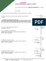 technique division 2 chiffres