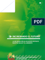 Incinerando El Futuro- Folleto