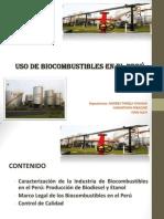 USO DE LOS BIOCOMBUSTIBLES EN EL PERU