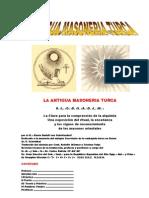 La Antigua Masoneria Turca