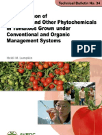 Antioxidants in Tomatos Lycopene